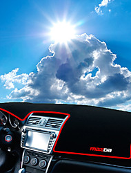abordables -Automobile Matrice de tableau de bord Tapis Intérieur de Voiture Pour Mazda Toutes les Années ZOOM-ZOOM Evolution