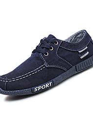 abordables -Homme Chaussures Polyuréthane Printemps / Automne Confort Chaussures d'Athlétisme Gris / Bleu
