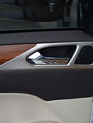 Недорогие -автомобильный дверной подлокотник защитная крышка diy автомобильные интерьеры для lincoln все годы mkc stailess steel