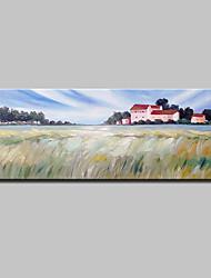 economico -Hang-Dipinto ad olio Dipinta a mano - Paesaggi Rustico Tela