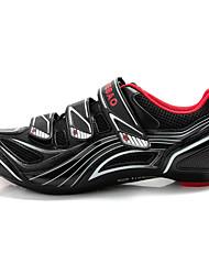 abordables -Tiebao® Chaussures de Vélo de Route Chaussures Vélo / Chaussures de Cyclisme Homme Antidérapant Séchage rapide Respirable Vélo tout