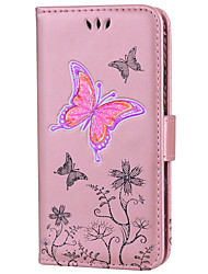 economico -Custodia Per Huawei P9 Lite Huawei Huawei P8 Lite P8 Lite (2017) P10 Lite Porta-carte di credito Con chiusura magnetica Fantasia/disegno