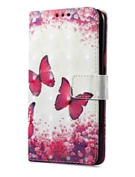 cheap -Case For Vivo vivo X20 Plus vivo X20 Card Holder Wallet with Stand Flip Magnetic Pattern Full Body Cases Butterfly Hard PU Leather for