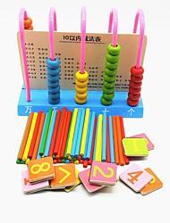 Недорогие -Игрушки Для школы Специально разработанный Полукруг деревянный Древесно-пластиковый композит Семья Новый дизайн Куски Детские Подарок