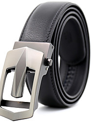 cheap -Men's Party Work Casual Waist Belt - Geometric, Modern Style Stylish