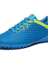 abordables -Homme Chaussures Polyuréthane Printemps / Automne Confort Chaussures d'Athlétisme Football Orange / Vert clair / Bleu royal