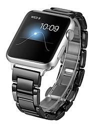 economico -cinturino per apple watch serie 3/2/1 apple cinturino da polso classico fibbia ceramica