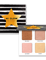 cheap -4 Highlighters/Bronzers Dry Shimmer Powder Casual/Daily China