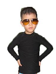 economico -Bambini Top sottomuta Elevata elasticità Morbidezza Chinlon Manica lunga Top Polo ad acqua Beach volley Attività all'aperto Surf Sub e