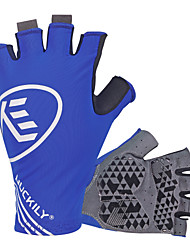 cheap -Nuckily Sports Gloves Bike Gloves / Cycling Gloves Ultraviolet Resistant Breathable Anti-skidding Shockproof Fingerless Gloves Lycra