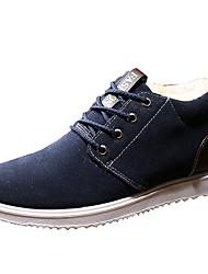 economico -Per uomo Fashion Boots Pelle nubuck / PU (Poliuretano) Primavera / Autunno Comoda Stivaletti Stivaletti / tronchetti Grigio / Blu / Cachi