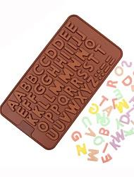 Недорогие -Инструменты для выпечки силикагель Инструмент выпечки День рождения День Святого Валентина Торты Для шоколада Для торта Формы для пирожных 1шт