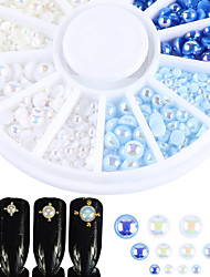 cheap -Glitter Pearls Nail Jewelry Fashionable Jewelry Sparkle Glam Fashion High Quality Daily Nail Art Design
