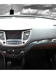 preiswerte -Automotives Mittelstapel deckt diy Autoinnenräume für hyundai 2015 neue Tucson-Kohlenstofffaser ab