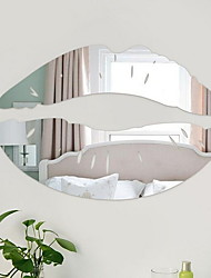 cheap -Decorative Wall Stickers - Mirror Wall Stickers Sexy Maids & Servants Living Room