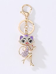 cheap -Keychain Jewelry Black Light Purple Red Light Blue Fox Alloy Casual European Gift Daily Women's