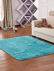 abordables -Rétro Tapis de Bain Polyester/Viscose Créatif Rectangle