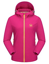 cheap -Women's Hiking Jacket Outdoor Winter Keep Warm Fast Dry Top Single Slider Casual Camping Running