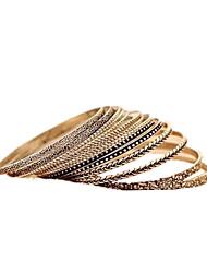 billige -Dame Manchetarmbånd - Mode Armbånd Sølv Til Daglig