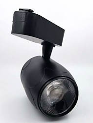 cheap -1pc 30W 1 LEDs Easy Install Track Lights Warm White Natural White White AC 86-220