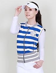 abordables -Mujer Golf Chalecos Resistente al Viento Listo para vestir Transpirabilidad Golf Ejercicio al Aire Libre