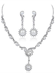 cheap -Women's Jewelry Set - Sweet, Fashion Include Bridal Jewelry Sets Silver For Wedding / Party