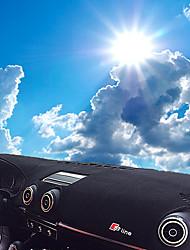economico -Settore automobilistico Dashboard Mat Tappetini interno auto Per Audi 2014 2015 2016 2017 A3