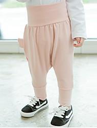 cheap -Unisex Painting Pants, Modal Spring Fall Cartoon Blushing Pink Light Blue