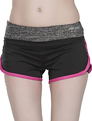 baratos -Mulheres Shorts de Corrida Vestível Calças Corrida Poliéster, Elastano Branco / Verde / Rosa claro S / M / L