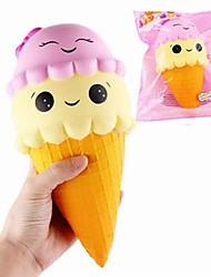 cheap -LT.Squishies Squeeze Toy / Sensory Toy Stress Relievers Toy Ice Cream Relieves ADD, ADHD, Anxiety, Autism Office Desk Toys Stress and