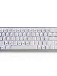 cheap -AJAZZ ZN Wired Wireless Monochromatic Backlit Red Switches Brown Switches 68 Mini Backlit