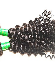 cheap -guangzhou hair supplier good quality 10a indian virgin hair deep wave style 2 bundles 200g lot indian remy human hair extensions weaves natural black