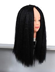 cheap -Kinky Straight Weave 18inch Italian Yaki Straight Hair Weave kanekalon Straight Extensions for Black Women Toyokalon 26 Strand 100g gram Hair 1pc