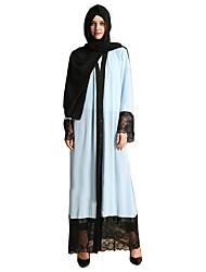 preiswerte -Mode Einteilig Kleid Frau Fest / Feiertage Halloween Kostüme Blau Solide