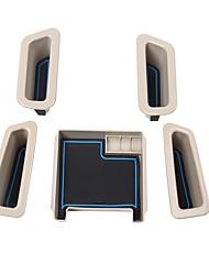 economico -Organizer e portaoggetti per auto Cassetta di immagazzinaggio anteriore del bracciolo Scatola di immagazzinaggio del bracciolo della porta