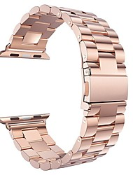 economico -cinturino per apple watch serie 3/2/1 mela cinturino moderno fibbia in acciaio inox