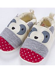 cheap -Baby Shoes Fabric Winter Fall First Walkers Comfort Slippers & Flip-Flops for Casual Beige