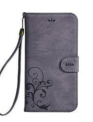 economico -Custodia Per LG Porta-carte di credito A portafoglio Con supporto Con chiusura magnetica Fiore decorativo Resistente per