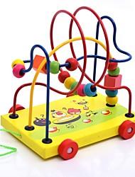 economico -puzzle di legno giocattoli tema classico interazione genitore-figlio pezzi di legno per bambini