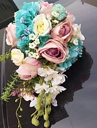 cheap -Wedding Flowers Bouquets Unique Wedding Décor Others Wedding Party / Evening Prom Material Customized Materials 0-10 cm 0-20cm