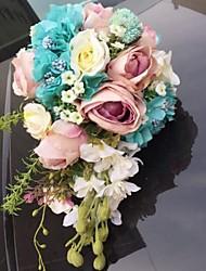billiga -Brudbuketter Bukett Unik bröllopsdekor Andra Bröllop Fest / afton Bal Material 0-10 cm 0-20cm