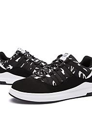 preiswerte -Damen Schuhe PU Frühling Herbst Komfort Sneakers Flacher Absatz für Draussen Weiß Rot