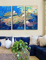 cheap -Canvas Print Rustic Modern,Three Panels Canvas Vertical Print Wall Decor Home Decoration