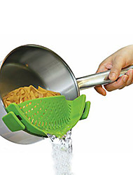 cheap -Kitchen Gizmo Sincone Snapn Strain Strainer on Pots Pants Bowls