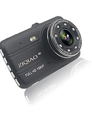 cheap -ZIQIAO JL-17 HD 1280 x 720 / Full HD 1920 x 1080 Car DVR 170 Degree Wide Angle 12 MP / 1/4 inch CMOS PC1030 4inch IPS Dash Cam with Time
