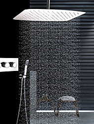 cheap -Shower Faucet - Contemporary Stainless Steel Ceiling Mounted Ceramic Valve