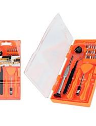 abordables -Jakemy 8144 26 en 1 herramientas de reparación profesional para iphone ferramentas juego de destornilladores brocas curvas herramientas de