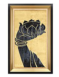 preiswerte -Ölgemälde Wandkunst,Polystyren Stoff Mit Feld For Haus Dekoration Rand Kunst Innen