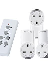 Недорогие -1 до 3 интеллектуальных пульта дистанционного управления розеткой uk стандартный RF пульт дистанционного управления для смарт-дома