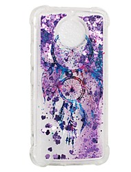 cheap -Case For Motorola MOTO E4 Shockproof Flowing Liquid Pattern Back Cover Dream Catcher Soft TPU for Moto G5s Moto E4